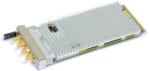 AMC-K2L-RF2 low-cost, high performance AdvancedMC card based on TI's TCI6630K2L SoC with 2x2 RF